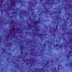2545-002 Best Of Malam Batiks - Faberge Large - Purple/Blue Fabric