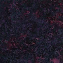 2551-006 Best Of Malam Batiks - Trail - Dark Rust Fabric