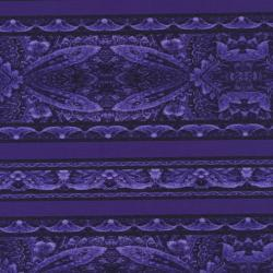 2101-006 Border Basics - Border - Purple Fabric