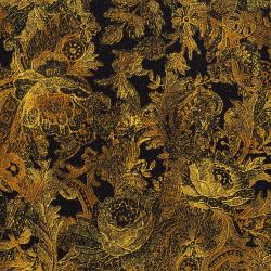 3011-002 Burano - Paisley - Gold Fabric