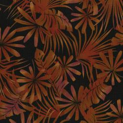 3013-002 Burano - Palm Leaf - Rust Fabric