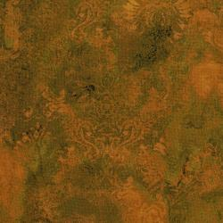 3015-001 Burano - Ghost Flower - Gold Fabric