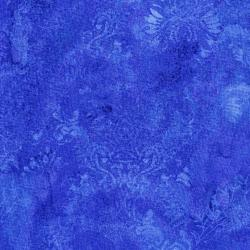 3015-004 Burano - Ghost Flower - Blue Fabric