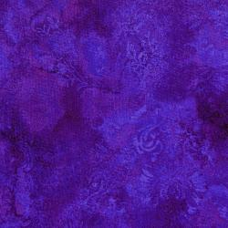 3015-006 Burano - Ghost Flower - Magenta Fabric