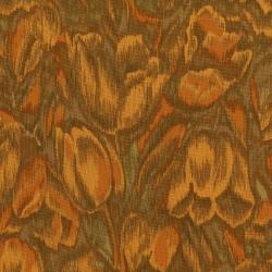 3016-001 Burano - Tulips - Orange Fabric
