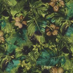 2793-002 Casablanca - Floral - Olive Fabric