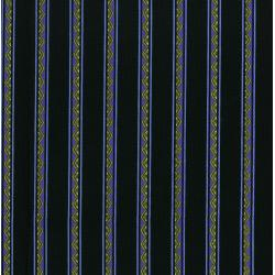 3287-005 Casablanca Mini Borders - Stripe - Indigo Fabric