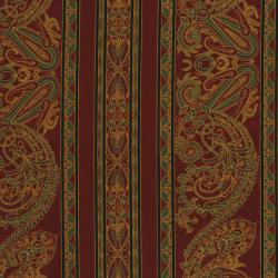2448-004 Delhi - Border - Rust Fabric
