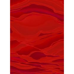 3582-007 Holiday Aruba - Wave - Ruby Fabric