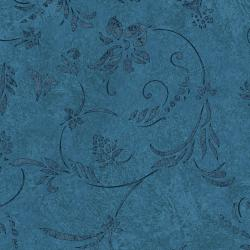 JB402-TE5 Impressions - Vines - Teal Fabric