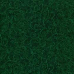 0691-008 Jinny Beyer Palette - Scroll - Emerald Fabric
