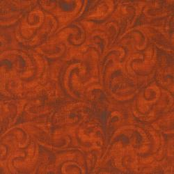 2202-001 Jinny Beyer Palette - Burnt Orange Fabric
