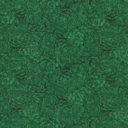 8737-006 Jinny Beyer Palette - Hens & Chicks - Holiday Green Fabric