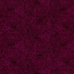 8737-010 Jinny Beyer Palette - Hens & Chicks - Magenta Fabric