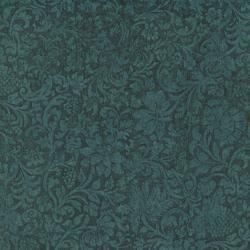 8868-002 Jinny Beyer Palette - Floral Vine - Windsor Blue Fabric