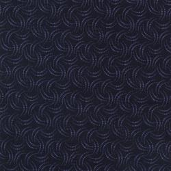 9410-003 Jinny Beyer Palette - Eyelash - Navy Fabric