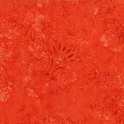 3284-001 Malam Batiks V - Jacobian - Light Orange Batik Fabric