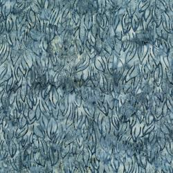 3285-006 Malam Batiks V - Leaves - Gray Batik Fabric