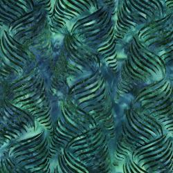 3286-003 Malam Batiks V - Ribbon - Ocean Waves Batik Fabric