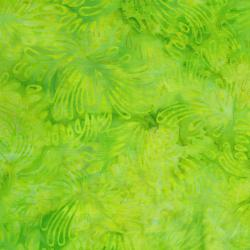 3626-004 Malam Batiks VI Lights & Brights - Petals - Lime Fabric
