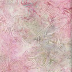 3628-002 Malam Batiks VI Lights & Brights - Grass - Pale Pink Fabric