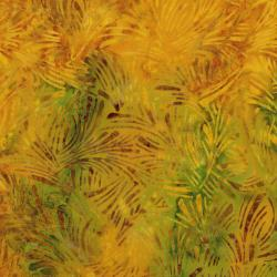 3628-005 Malam Batiks VI Lights & Brights - Grass - Maize Fabric