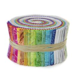 9652-531 Malam Batiks VI Lights & Brights - Pixie Strips