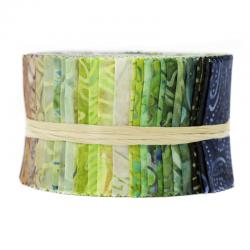 JBBMP-2.5S-RF Best of Malam Batiks - Rain Forest Spindle Strips