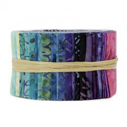 JBBMP-2.5S-TW Best of Malam Batiks - Tropical Waters Spindle Strips