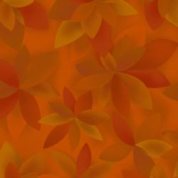 JB601-OR6 Playa - Palms - Orange Fabric