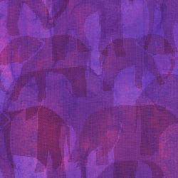 2661-002 Safari - Elephant - Purple Fabric