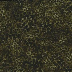 2662-001 Safari - Leopard - Green/Black Fabric