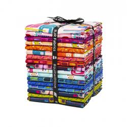 KK100P-FQB Floret Geometric Fat Quarter - Bundle