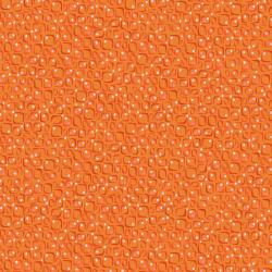 KK104-OR1 Floret Geometric - Conflorations - Orange Fabric