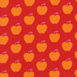 2420-001 Apple Hill Farm - Apples - Red Fabric