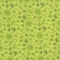 2633-003 Bugsy - Shadows - Leaf Fabric