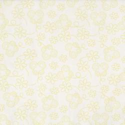 2634-002 Bugsy - Dotty Butterfly - White Fabric