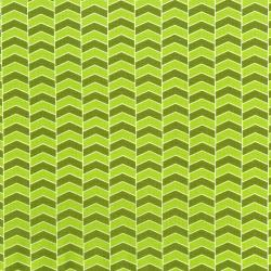 2817-001 Fairy Tales - Zigzag - Green Fabric