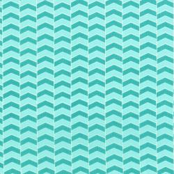 2817-002 Fairy Tales - Zigzag - Teal Fabric