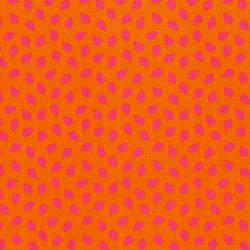 2820-005 Fairy Tales - Leaves - Orange Fabric
