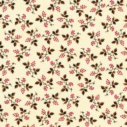 2718-002 Chocolate & Bubble Gum - Berry - Vanilla Fabric