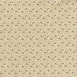2720-001 Chocolate & Bubble Gum - Caramel - Brown Fabric