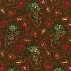 3429-003 Fall's Majesty - Foliage - Cattails Fabric