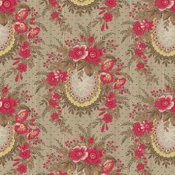 3547-001 Family Roots - Angelica - Cherry Fabric