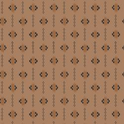 3548-003 Family Roots - Olivia - Brown Sugar Fabric
