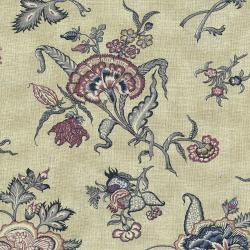 3000-002 Forget Me Not - Meadow - Aged Blue Fabric