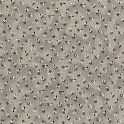3003-002 Forget Me Not - Blossom - Aged Gray Fabric