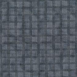 3009-002 Forget Me Not - Fences - Aged Blue Fabric