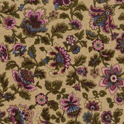 3230-004 Pioneer Brides - Abilene - Prune Fabric