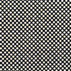 3249-007 Lori's Art Garden - Garden Dots - Cream Black Fabric
